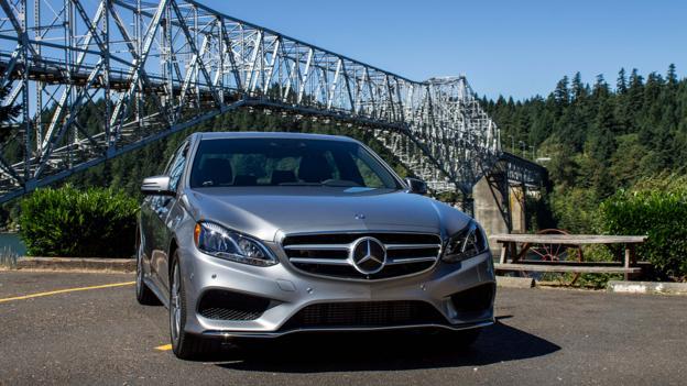 2014 Mercedes-Benz E550 4Matic Sport (Credit: Brendan McAleer)