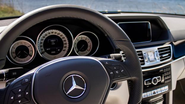2014 Mercedes-Benz E400 Hybrid (Credit: Brendan McAleer)