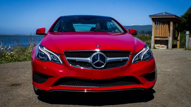 2014 Mercedes-Benz E350 Coupe (Credit: Brendan McAleer)