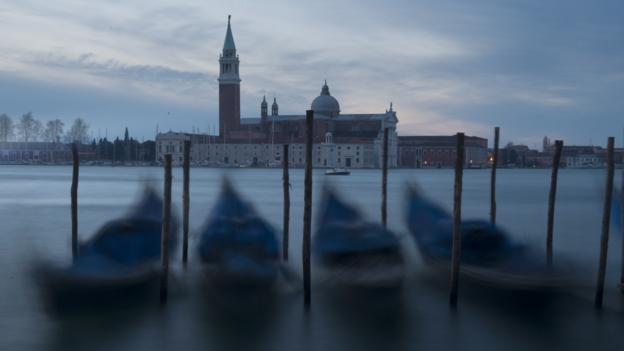 A misty scene (Credit: AFP/Getty Images)