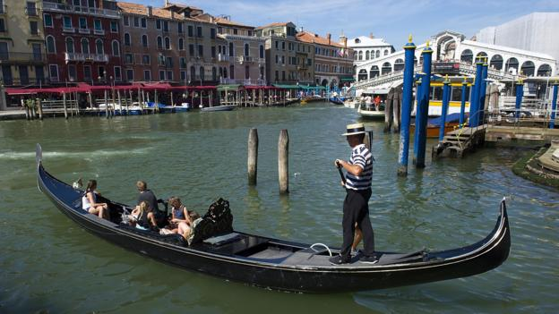 Gondola on the Grand Canal (Credit: Getty Images)