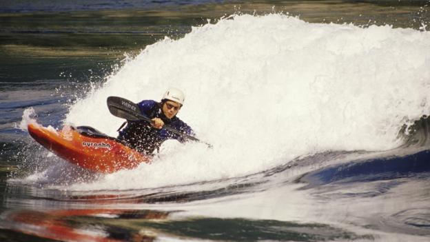 Kayaking at Skookumchuck Narrows (Credit: Henry Georgi/Getty)