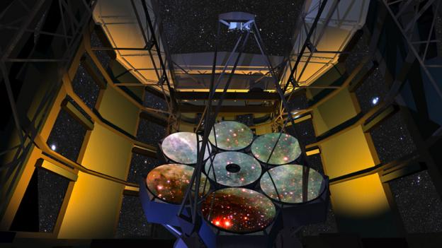 Power up (Credit: Copyright: Giant Magellan Telescope)