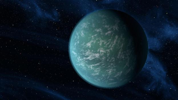 Second Earth? (Credit: Copyright: Nasa)