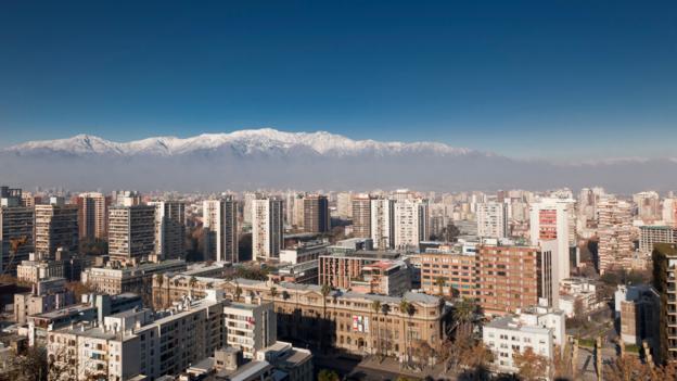 Santiago, Chile (Credit: Thinkstock)