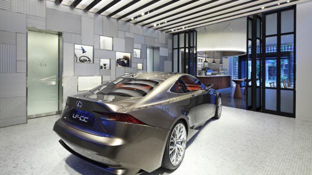 Intersect by Lexus (Credit: Lexus International)