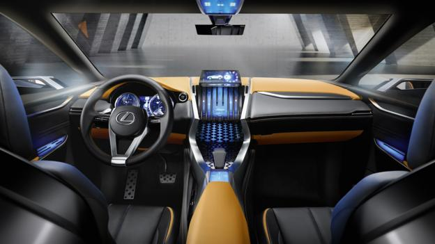 The origami Lexus (Credit: Toyota Motor Sales)