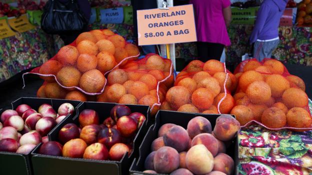 Fruit at the Barossa Farmers Market (Credit: Virginia Star/Getty)