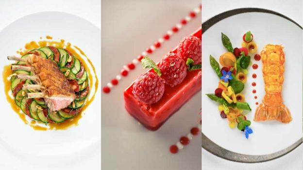 Dishes by chef Emile Cotte at Taillevent (Credit: Taillevent)
