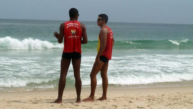 Ipanema lifeguards (Credit: Pamela Gupta)