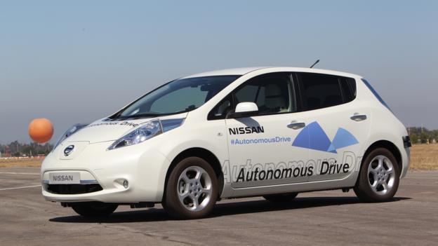 Thinking fast (Credit: Nissan North America)
