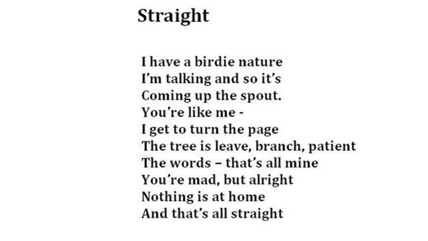 Straight, Hilda (Credit: Poem: Living Words, Photo: Julia Miranda/Living Words)