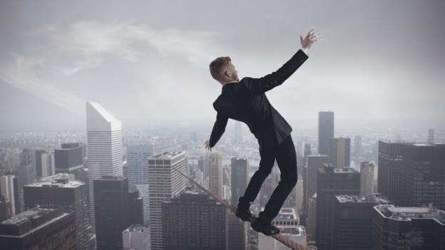 Walking the tightrope after reporting the boss. (iStockphoto)