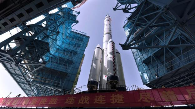 Chinese and united states involvement in space