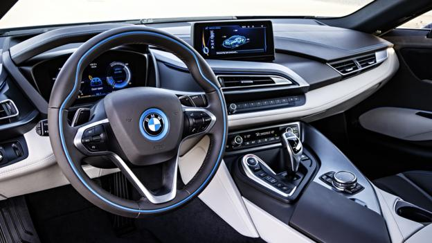 BMW i8 (Credit: BMW of North America)
