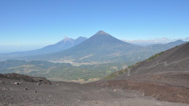 View from Pacaya (Credit: Laura Mallonee)