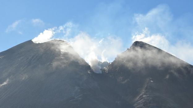 Pacaya's peak (Credit: Laura Mallonee)