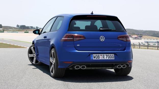 Volkswagen Golf R (Credit: Volkswagen)