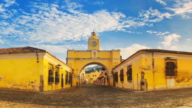 Arco de Santa Catalina (Credit: Roberto A Sanchez/Getty)