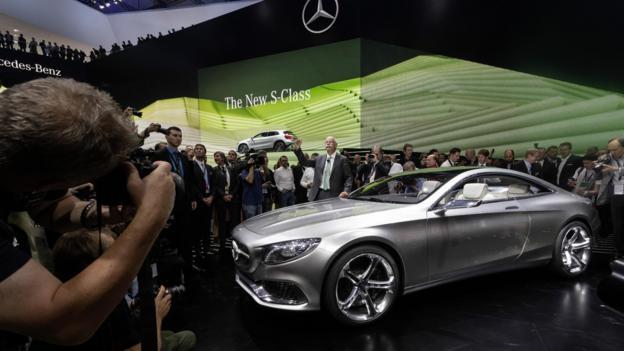 Mercedes-Benz Concept S-Class Coupé (Credit: Daimler)