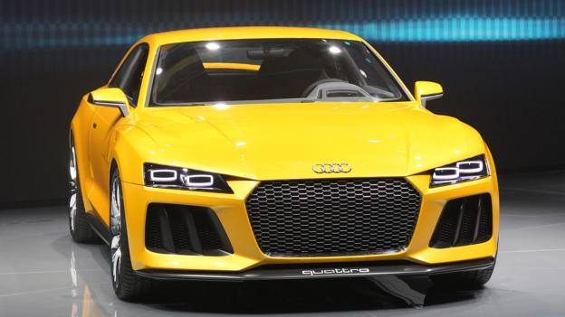 Audi Sport Quattro Concept (Credit: Daniel Roland/AFP/Getty)