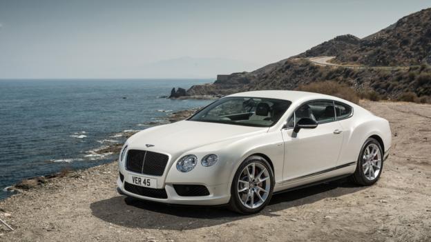 Bentley Continental GT V8 S Coupe (Credit: Bentley Motors)
