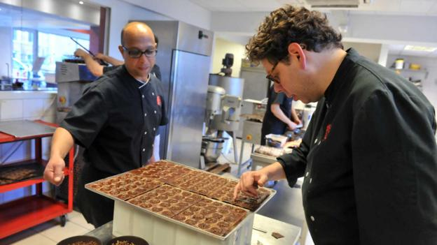 A new generation of chocolate makers (Credit: Georges Gobet/AFP/Getty)