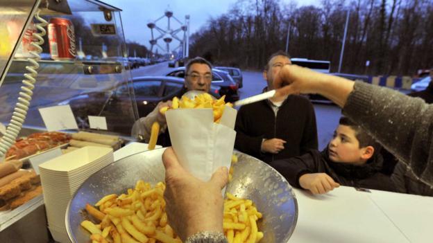 Belgian fries (Credit: Georges Gobet/AFP/Getty)