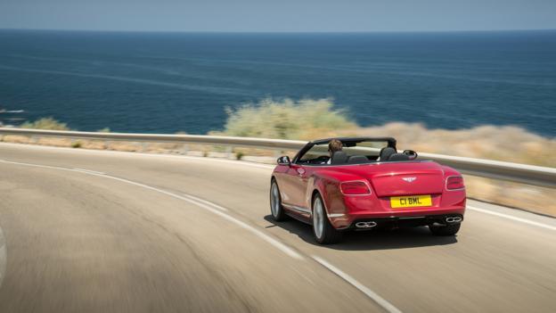 Bentley Continental GT V8 S Convertible (Credit: Bentley Motors)