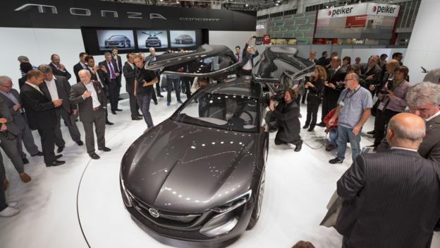 Opel Monza Concept (Credit: Newspress)