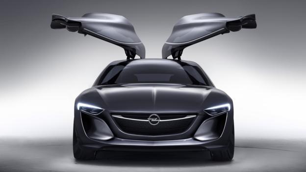 Opel Monza Concept (Credit: General Motors)