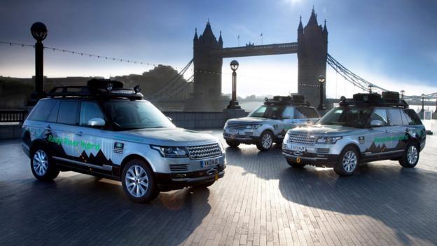 2014 Land Rover Range Rover Hybrid (Credit: Jaguar/Land Rover)