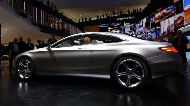 Mercedes-Benz Concept S-Class Coupé (Credit: Stefan Bischoff)