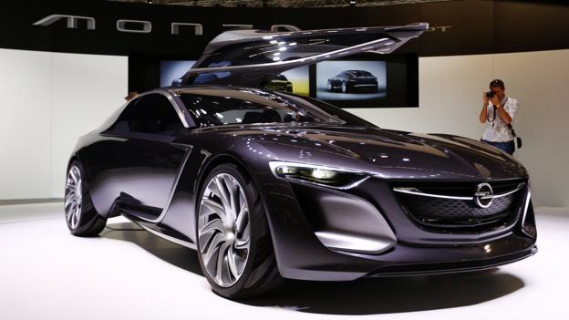 Opel Monza Concept (Credit: Stefan Bischoff)