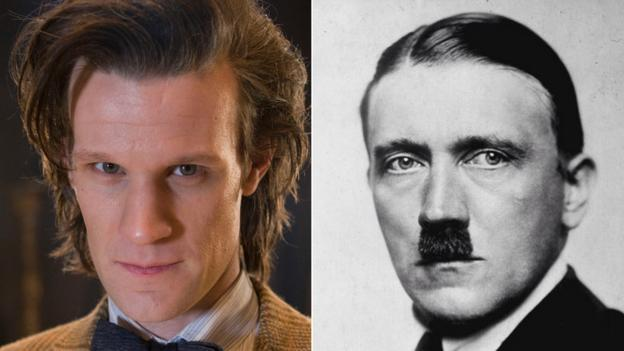 Doctor Who (Matt Smith) and Adolf Hitler