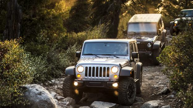 The Wrangler, in its element (Credit: Chrysler Group)