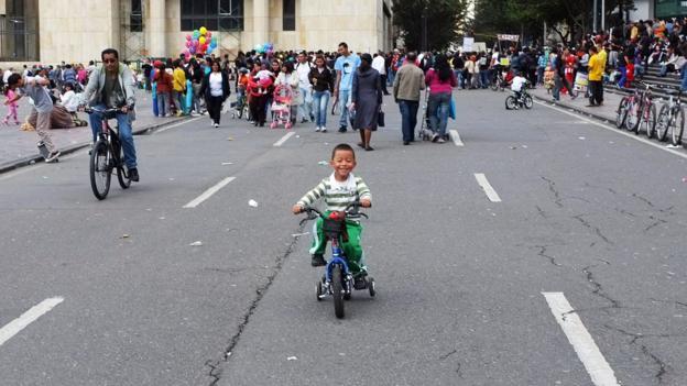 Plaza de Bolivar (Credit: Kaveh Kazemi/Getty)
