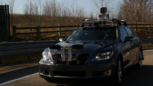 Car becomes driver (Credit: Lexus)