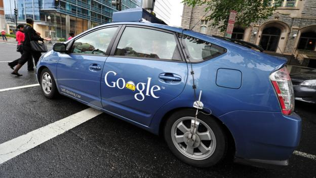Car becomes driver (Credit: Karen Bleier/Getty Images)
