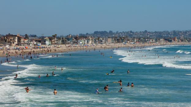 Pacific Beach (Credit: Ashok Sinha/Getty)