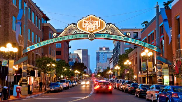 The Gaslamp Quarter (Credit: John Bahu)