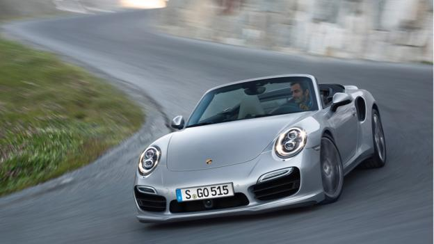 2014 Porsche 911 Turbo Cabriolet (Credit: Porsche, via Newspress)