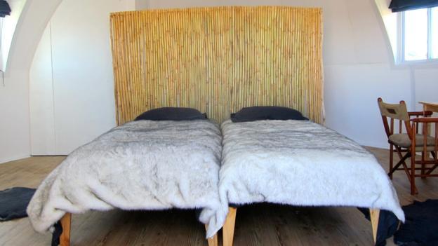 Sleeping pod interior (Credit: White Desert)