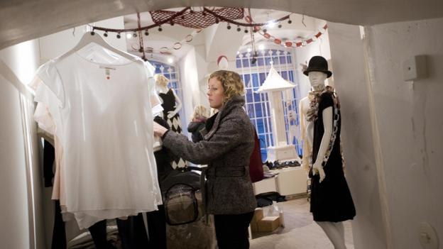 Boutique shopping in Gamla Stan (Credit: AFP/Getty)