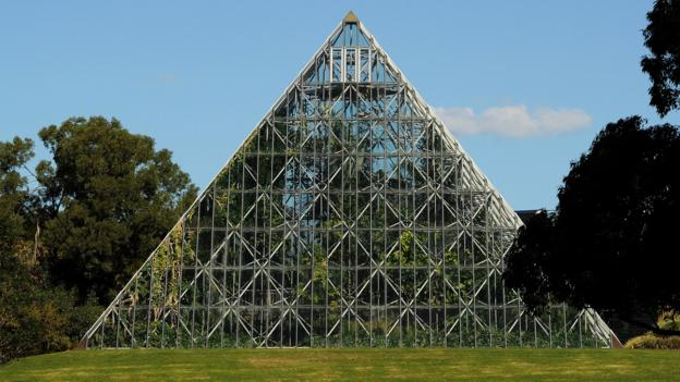 Pyramid Glasshouse in Sydney's Royal Botanic Gardens (Credit: AFP/Getty)