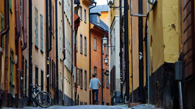 Stockholm's Old Town (Credit: AFP/Getty)