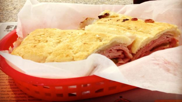 The Cuban sandwich at Enriqueta's (Credit: Caitlin Zaino)