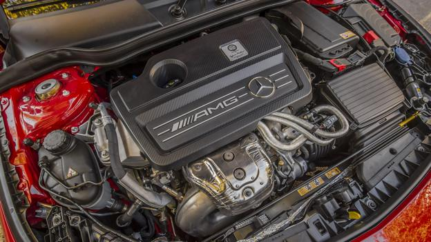 2014 Mercedes-Benz CLA45 AMG (Credit: Mercedes-Benz USA)