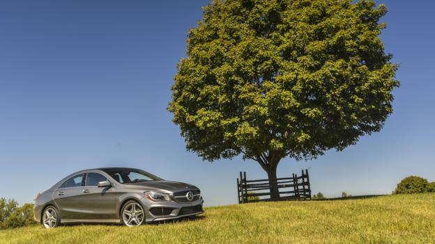 2014 Mercedes-Benz CLA250 (Credit: Mercedes-Benz USA)