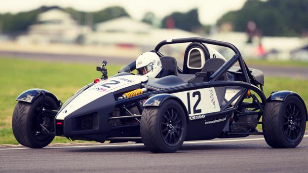 Top Gear at the races (Credit: Photo: Lee Brimble & Rowan Horncastle)